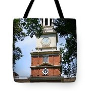 A View Of Independence Hall Tote Bag