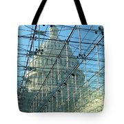 A View Of The Capitol From The Visitor Center Tote Bag