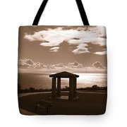 A View Of The Pacific Tote Bag