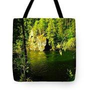 A View Of The Seleway River Tote Bag