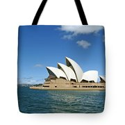 A View Of The Sydney Opera House Tote Bag