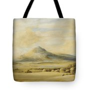 A View Of The Wrekin In Shropshire Going From Wenlock To Shrewsbury Tote Bag