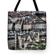 A View Of Vienne France Tote Bag