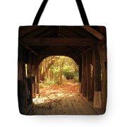 A View Through The Bridge Tote Bag