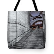 A View To The Mcgraw Rotunda Nypl Tote Bag