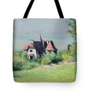 A Villa At Trouville Tote Bag by Gustave Caillebotte