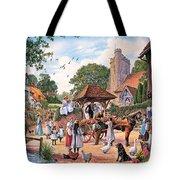A Village Wedding Tote Bag