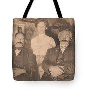 A Vintage Photo Of People Tote Bag