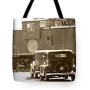 A Vintage View Tote Bag