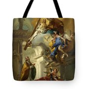 A Vision Of The Trinity Tote Bag
