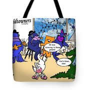 A Visit To The Blues Bar Tote Bag