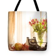 A Voice From The Past Tote Bag