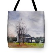 A Voice Of Winter Tote Bag