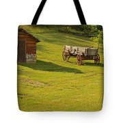 A Wagon   Let's Work Tote Bag