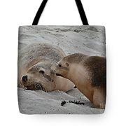 A Wake Up Kiss Tote Bag