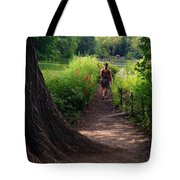 A Walk By The Reservoir Tote Bag