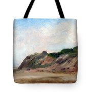 A Walk Down Cahoon Hollow Beach Tote Bag