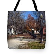 A Walk Down History Lane Tote Bag