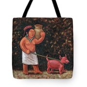 A Walk In Old Colima Tote Bag