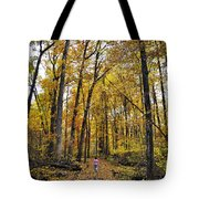A Walk In The Dune Land Forest Tote Bag