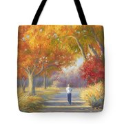 A Walk In The Fall Tote Bag