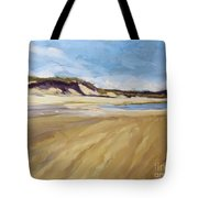 A Walk On The Beach Tote Bag by Colleen Kidder