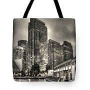 A Walk On The Embarcadero Waterfront Tote Bag