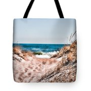 A Walk Out To The Water Tote Bag
