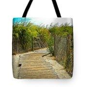 A Walk To The Beach Tote Bag