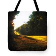 A Warm Michigan Sunrise Tote Bag