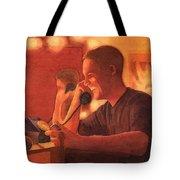 A Warm Smile Tote Bag