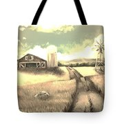 A Warm Welcome Antique Tote Bag