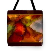 A Warrior Spirit Abstract Healing Art Tote Bag