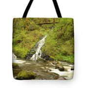 A Waterfall Into Oneida Creek Tote Bag