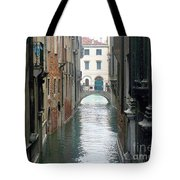 A Waterway Of Venice  Tote Bag