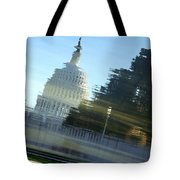 A Watery Capitol Tote Bag