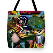 A Way To Bring The World To Tsheuvah 06 Tote Bag