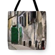 A Way To The Castle Tote Bag