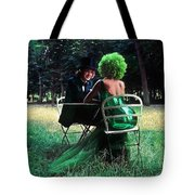 A Very Green Weekend In The Country Tote Bag