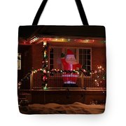 A Welcome From Santa Tote Bag