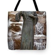 A Welcoming Jesus Tote Bag