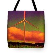 A Western Windmill Tote Bag
