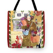A Whiskers And Piper Christmas Tote Bag