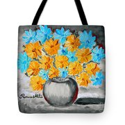 A Whole Bunch Of Daisies Selective Color II Tote Bag