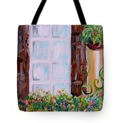 A Window View Tote Bag