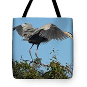 A Winged Stance Tote Bag