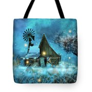 A Winter Fairytale Tote Bag
