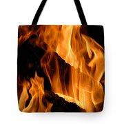 A Winter Fire Tote Bag