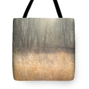 A Winter Glow Tote Bag