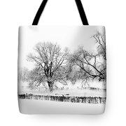 A Winter Scene Tote Bag